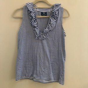 sailor-sailor Tops - Sailor- Sailor blue and white striped blouse